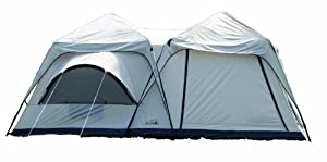 Texsport Twin Peaks Two-Room Cabin Screen Tent by Texsport