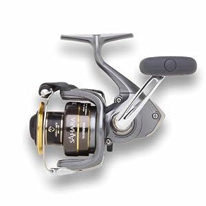 Shimano Sahara Spinning Fishing Reel, 6/230, 8/170, 10/140, Left/Right-Hand, Silver from Shimano