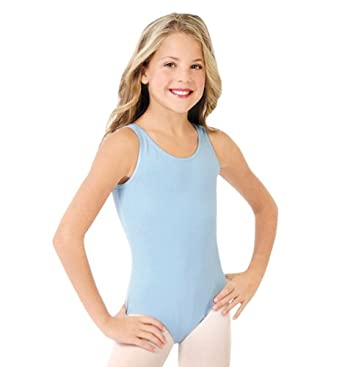 Capezio Girl's High-Neck Tank Ballet Leotard RED S