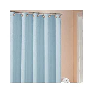 Moda Shower Curtain Color Aqua