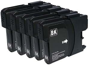 5個セット Brother LC11BK (黒) 互換インク
