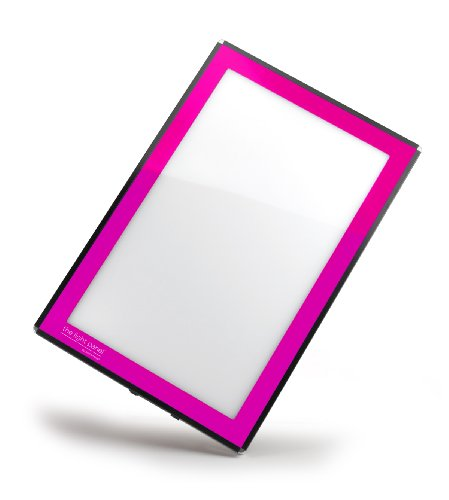 Porta-Trace LED Light Panel, Pink Frame, 16-by-18-Inch