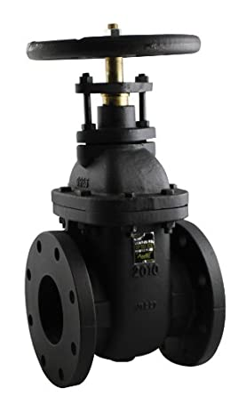 Apollo 610F Series Cast Iron Gate Valve, Class 125, Non-Rising Stem, Flanged
