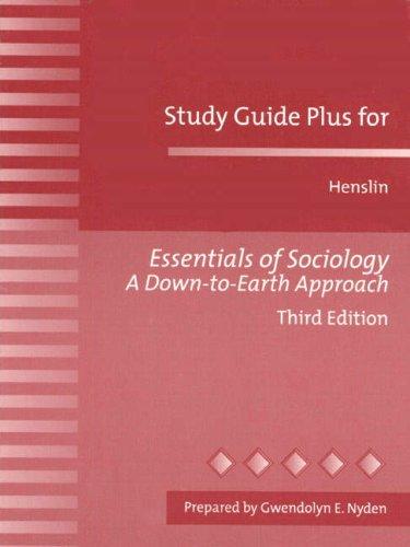 Plus Essential Sociology