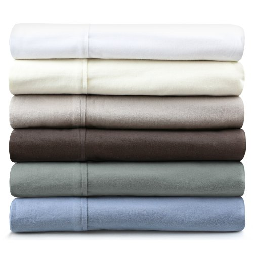 MALOUF FINE LINENS® 190-Gram Velvet Flannel Deep Pocket Bed Sheet Set