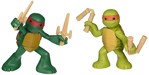 Teenage Mutant Ninja Turtles, Ninjas in Training Michaelangelo and Raphael Action Figures (Tmnt Ninjas In Training compare prices)