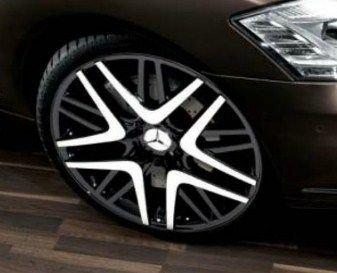 ベンツ Sクラス V221 ホイール 《 5Yスポーク・アルミホイール 》 メルセデス 純正 フロント/リア用 8.5J×20 S350 S550 S600 タイヤ エクステリア S-Class Mercedes Benz AMG 品番b66474529