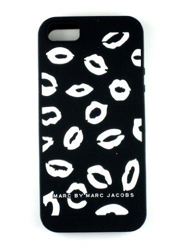 iphone5 シリコンケース MARC BY MARC JACOBS (マークバイマークジェイコブス) Mademoiselle Danger Print ホワイト 並行輸入