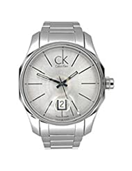 Calvin Klein Stainless Steel Quartz Silver Dial Men's Watch - K7741126