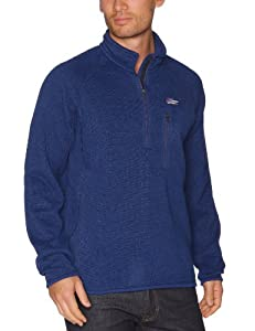 Patagonia M'S Better Sweat 1/4 Pull-over polaire homme Channel Blue S