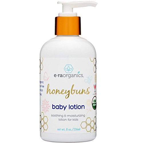 Organic Baby Lotion 8oz. USDA Certified Organic Body Lotion to Nourish, Moisturize and Repair Dry Skin with Aloe Vera, Cocoa Butter, Calendula. Best Natural Lotion For Dry Skin, Kids, Men & Women.