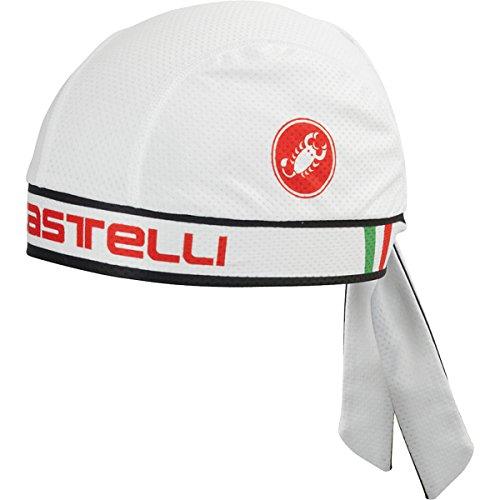 castelli-bandana-white-one-size