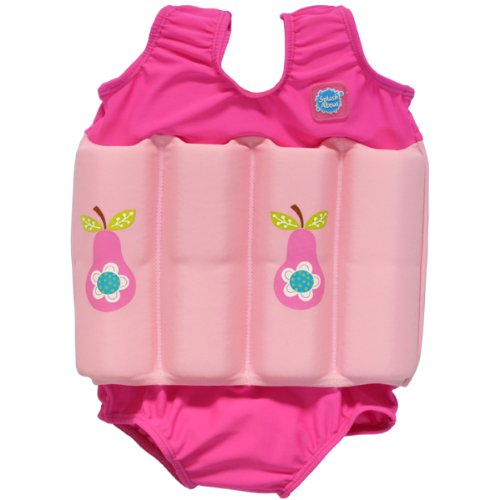Splash About Collections Float Suit (Pink Pear, 1-2 Years (Chest: 51Cm | Length: 37Cm)) front-398890