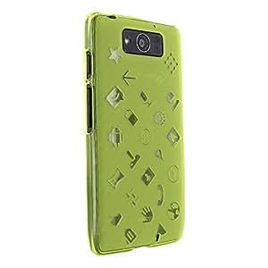 Droid Maxx Case, Cruzerlite Experience TPU Case (EXP Case) Compatible for Motorola Droid Maxx (Late 2013) - Green