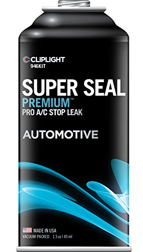 Cliplight  946KIT Super Seal Premium  A/C Stop Leak (Permanently Seals & Prevents Leaks in Auto A/C Systems) (Air Conditioner Leak Repair compare prices)