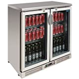 Polar Double Door Back Bar Cooler / Bottle Cooler CE206