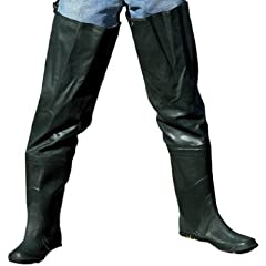 American Recreation Products 703119 Hip Wader, Rubber, Size 11 by american recreation