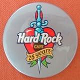 Hard Rock Cafe 25 Years badge