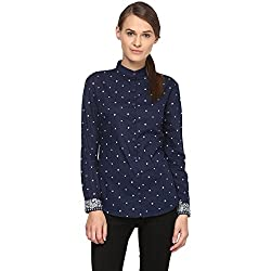 Annapoliss Women's Shirts (ANWH05_Navy_X-Small)