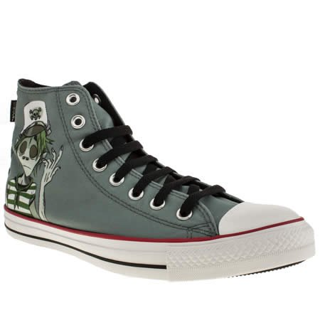 Converse As Gorillaz Hi - 9 Uk - Grey - Fabric