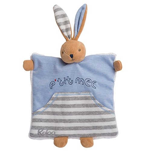 Kaloo K960063 - Blue Denim Doudou Coniglio, Blu, 20 cm