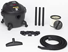 Shop-Vac 5860800 8-Gallon 3 5-Peak HP Quiet Deluxe Series Wet Dry Vacuum