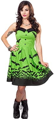 Sourpuss Spooksville Bats Dress