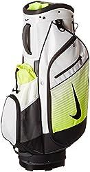 Nike BG0365-107 Sport Cart III Golf Bag, White/Volt Black