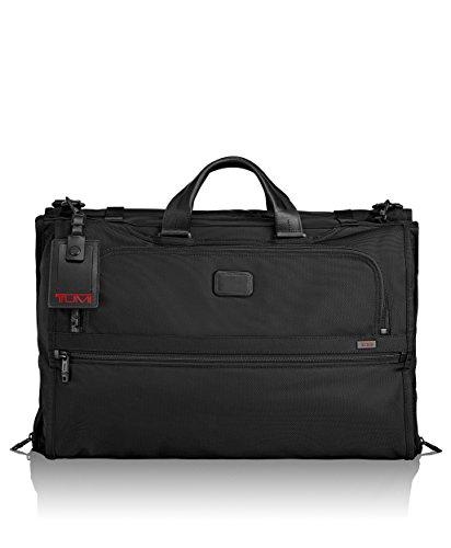 Tumi Alpha 2 Tri-Fold Carry-On Garment Bag, Black (Travel Garment Bag Leather compare prices)