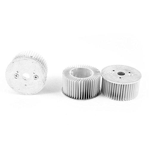3-4Watt Power Led Lamp Bulb Aluminium Heatsink Cooling Fin Plate 3 Pcs