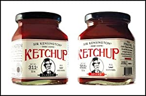 Sir Kensington Gourmet Ketchup Set - One Classic And One Spicy from SirKen