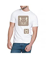 Chillum Men's Cotton T-shirt White - B00R9ERIVE
