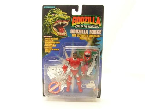 Godzilla King of the Monsters- Godzilla Force The Ultimate Godzilla Fighter - DAVID EASTON Figure - 1