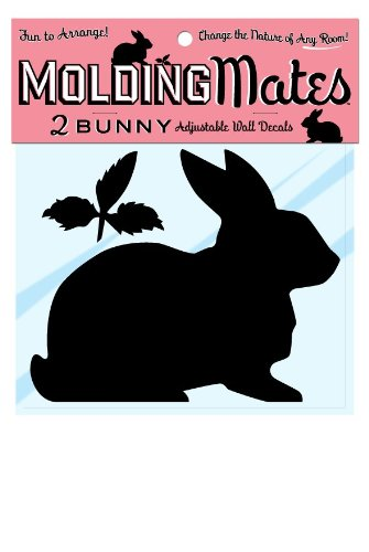 Molding Mates Bunnies 2 Molding Mates Home Decor Peel And Stick Vinyl Wall Decal Stickers