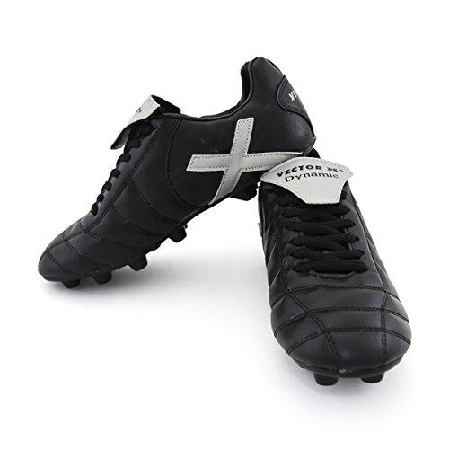 Vector-X-Dynamic-001-Football-Shoes-Mens-UK-7-BlackSilver