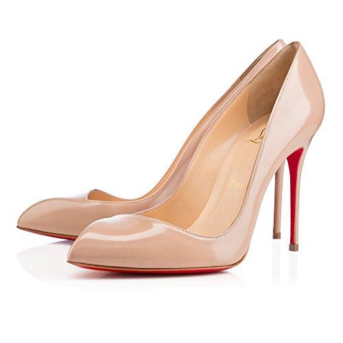 louboutin-shoes-zapatos-de-vestir-de-piel-para-mujer-beige-beige-color-beige-talla-39-eu