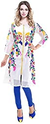 Spangel Fashion bollywood designer printed cotton stitched Kurti
