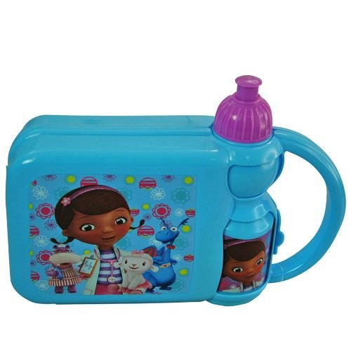 Doc Mcstuffins Combo Lunch Box with Water Bottle