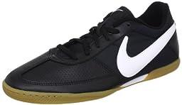 Nike Men\'s NIKE DAVINHO INDOOR SOCCER SHOES 8.5 Men US (BLACK/WHITE)