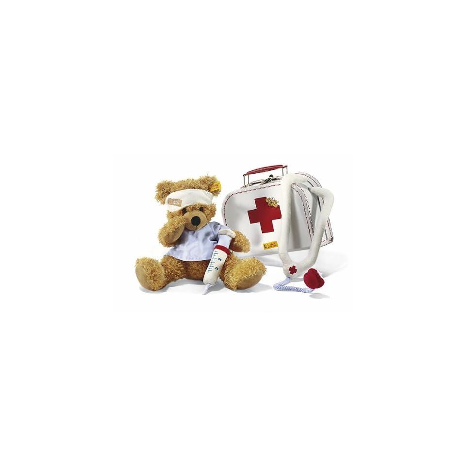 Pretend Play Teddy Bear Little Doctor Plush Toy Medical Set