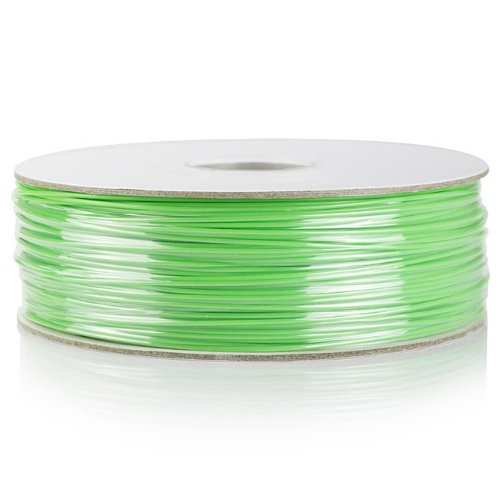 Barsoom Green 1.75mm 2.6lbs/1.2kg Natural ABS 3D Filament on Spool for MakerBot RepRap MakerGear Solidoodle Ultimaker & Up! 3D Printer
