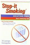 Natrabio Stop-It Smoking Anti-Craving Lozenges, 36 Homeopathic Lozenges