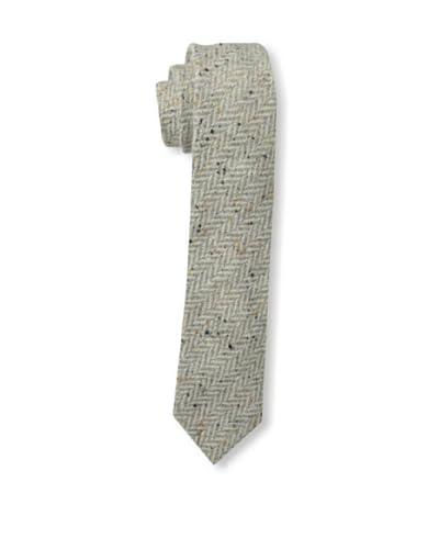 Gitman Vintage Men's Large Herringbone Tie, Grey