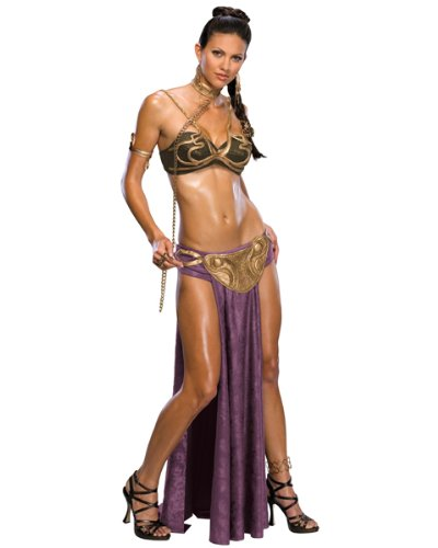 Rubies Costume Co R888611-S Star Wars Princess Leia Slave Adult Costume Size Small