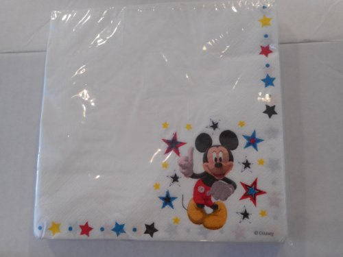 Disney Mickey Mouse Lunch Napkins - 1