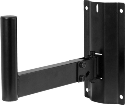 On Stage Ss7323B Wall Mount Speaker Bracket, Pair