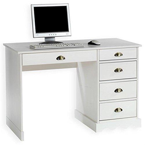 Schreibtisch Bürotisch COLETTE, weiß, Landhausstil kaufen
