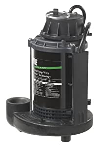 Wayne CDUCAP725 1/3 Horsepower Cast Iron and Steel Switch Genius Technology Sump Pump