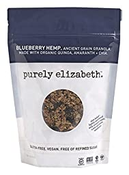 Purely Elizabeth Ancient Grain Granola Cereal Blueberry Hemp, 12oz