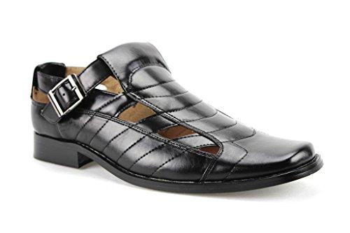 Majestic Men's 33302 Closed Toe Buckle Dress Shoe Sandals